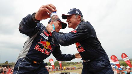 Carlos Sainz se proclama campeón del Rally Dakar 2018