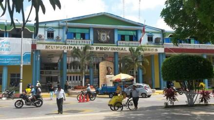 Ministerio Público intervino oficinas de la Municipalidad de Tumbes