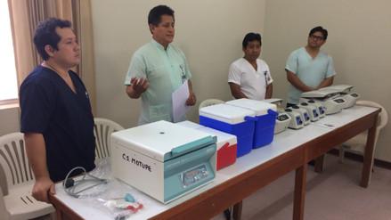 Entregan equipos de laboratorio a distritos con alto riesgo de brote de dengue