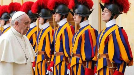 Conoce a la Guardia Suiza, el cuerpo militar encargado de la seguridad del papa Francisco