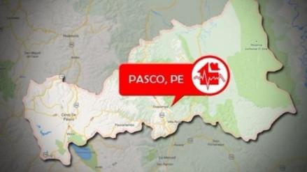 Sismo de magnitud 5.3 remeció Pasco