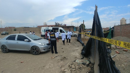 La Policía desenterró los cadáveres de madre e hija en descampado de Huaura