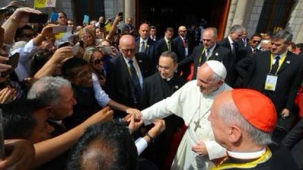Así fue el encuentro entre el Papa Francisco y Teófilo Cubillas