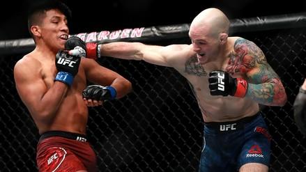 Fotos   Así fue la victoria de Enrique Barzola sobre Matt Bessette en UFC 220