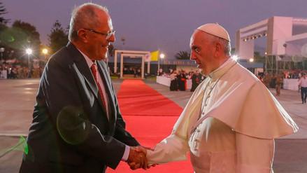 PPK tras despedir al papa Francisco: