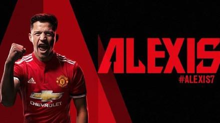 Alexis Sánchez se convirtió en nuevo jugador del Manchester United