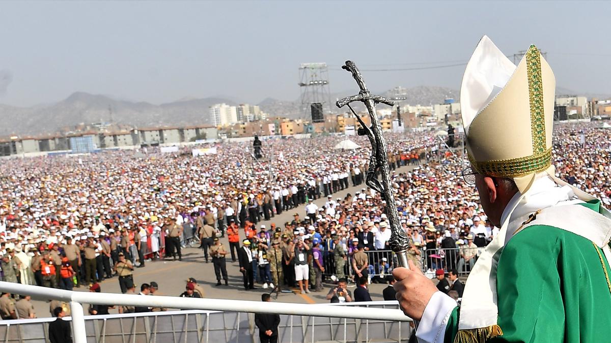 El Gobierno estima que hasta 1 millón 400 mil asistieron a la misa del Papa en Lima