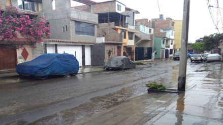 Senamhi prevé fuertes lluvias hasta el jueves