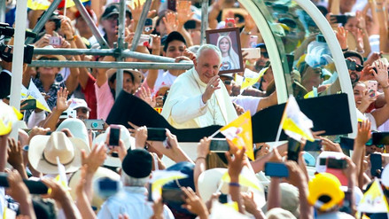 Las cifras que dejó la visita del papa Francisco al Perú