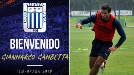 Alianza Lima oficializó el fichaje de Gianmarco Gambetta