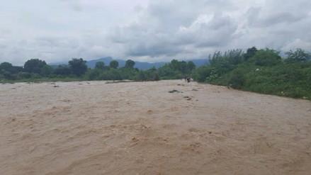 Incremento de caudal de ríos amenaza con paralizar trabajos de prevención