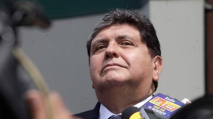 """Alan García: """"Lo que desespera a los adversarios es que otros se venden. Yo no"""""""