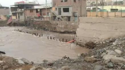 Autoridades enfrentadas por las obras de prevención en Chosica