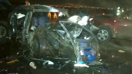 Quince muertos en accidentes de tránsito se registra en lo que va del año