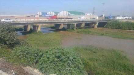 Descolmatación de río Moche no se ejecuta pese a lluvias