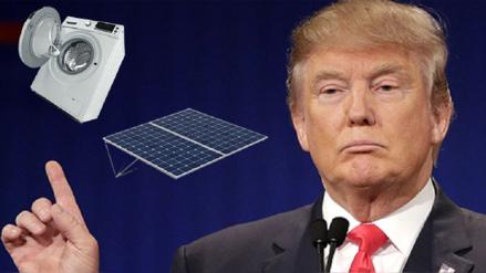 Estados Unidos impondrá barreras a importación de lavadoras y paneles solares