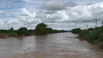 Unas 50 familias en riesgo debido a que viven en riberas del río La Leche
