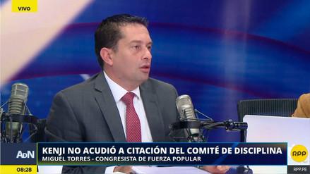 Miguel Torres dijo que