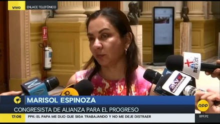 Marisol Espinoza renunció a la comisión Lava Jato en protesta contra Rosa Bartra