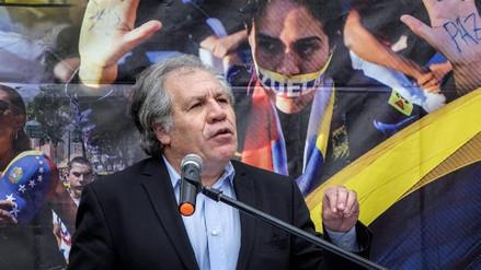 """Luis Almagro calificó de """"farsa"""" la convocatoria a elecciones presidenciales en Venezuela"""