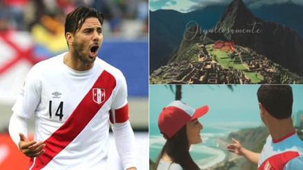 Claudio Pizarro publicó video en Instagram y se mostró orgulloso del Perú