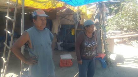 Familias de centro poblado en Coishco en riesgo ante posibles lluvias