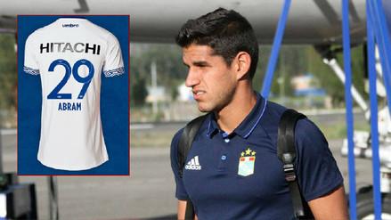 Luis Abram ya conoce la dorsal que usará en Vélez Sarsfield