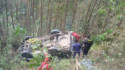 Sánchez Carrión: Siete heridos tras volcadura de combi en Marcabal