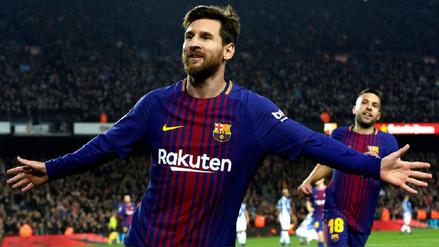 Barcelona derrotó al Espanyol y avanzó de fase en la Copa del Rey