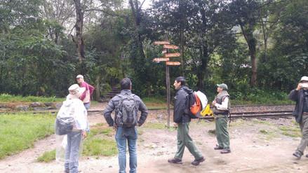 Realizan trabajos de prevención por fuertes lluvias en Machu Picchu
