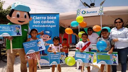 Ciudadanos de Pomalca aprenden buenas prácticas de cuidado del agua