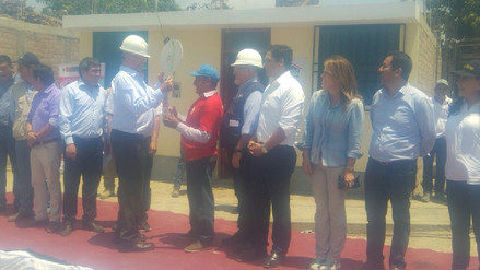 Virú: PPK y ministro Carlos Bruce entregan 200 viviendas en Chao