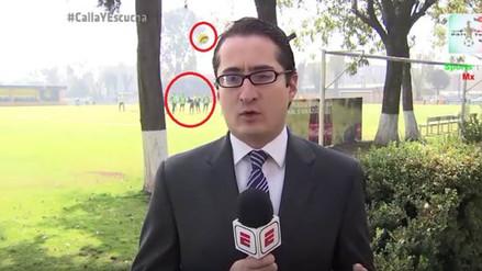 Colombiano Quintero es sancionado por intentar dar un pelotazo a un periodista