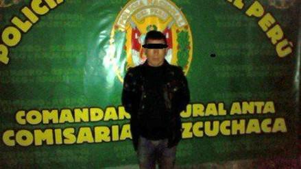 Hombre con alteraciones mentales asesinó a su padre en Calca