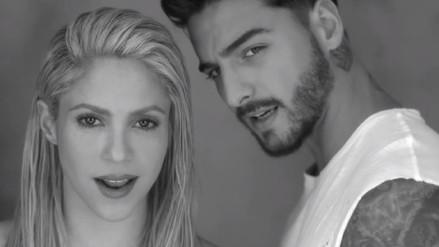 YouTube | Shakira protagoniza sensual videoclip junto a Maluma