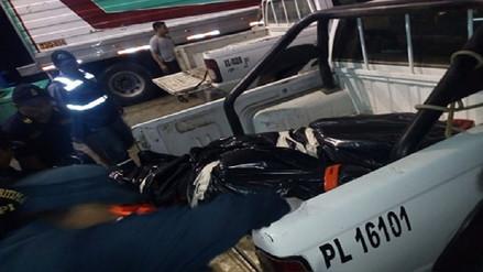 Trasladan a Piura los tres cuerpos rescatados tras choque con buque liberiano