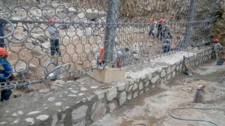 La Autoridad Nacional del Agua inició reparación de barreras en quebradas de Chosica