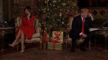 Melania Trump desmintió rumores de problemas en su matrimonio