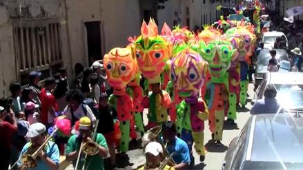 'Bando del Carnaval' recorrió las calles de Cajamarca