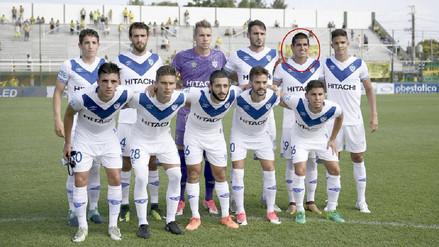 Luis Abram debutó en triunfo de Vélez Sarsfield en la Superliga Argentina