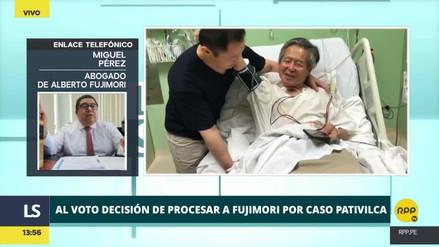 """Caso Pativilca: el abogado de Fujimori dice que es más """"productivo"""" que sea testigo y no procesado"""