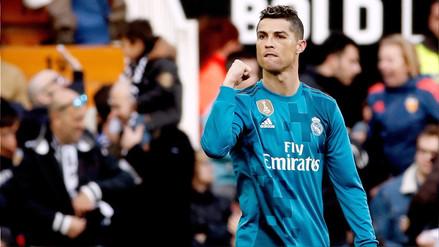 Cristiano Ronaldo es el jugador que más penales ha lanzado en la historia de La Liga