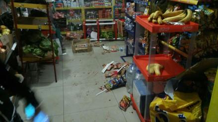 Denuncian actos vandálicos de hinchas de Universitario en una tienda de La Molina