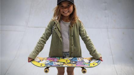 Sky Brown, la niña japonesa que sueña con competir en 'skate' en Tokio 2020