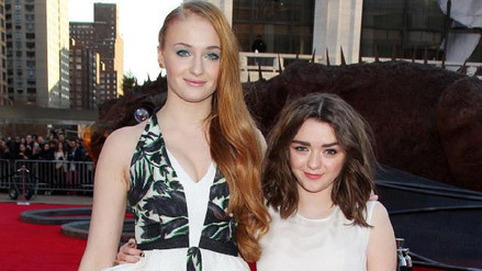 Maisie Williams será la dama de honor en la boda de Sophie Turner