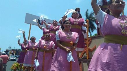 Señoras de la Marinera gana Corso de la Marinera 2018