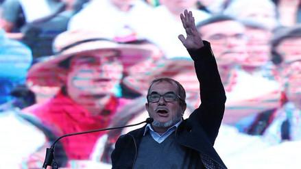 'Timochenko' lanza su candidatura a la Presidencia de Colombia