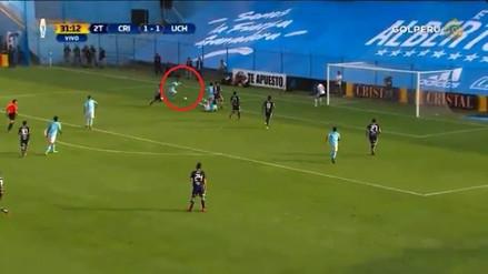 Gabriel Costa le dio la victoria a Sporting Cristal con esta definición