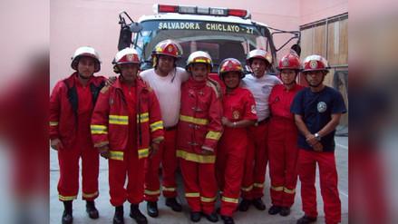 Bomberos de Chiclayo lanzan convocatoria para incluir jóvenes voluntarios