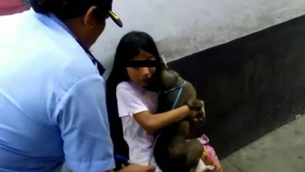 Trujillo: niña fuga de su casa porque le prohibieron quedarse con mascota